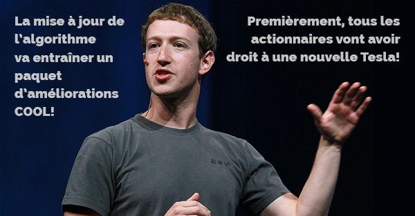 La baisse du reach Facebook n'est pas un mythe!