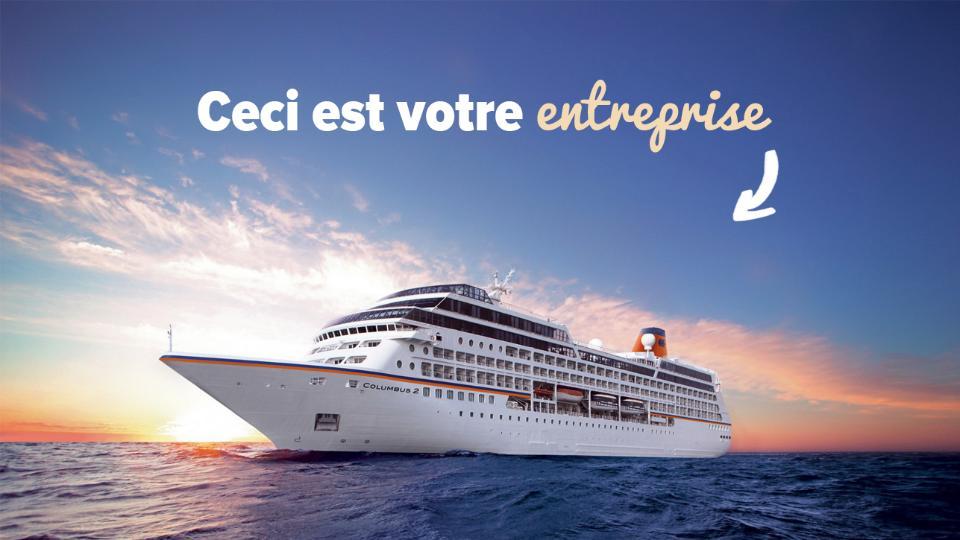 Votre entreprise, c'est comme un bateau!