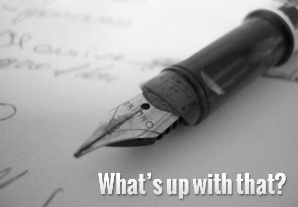 Pourquoi écrire un blogue?