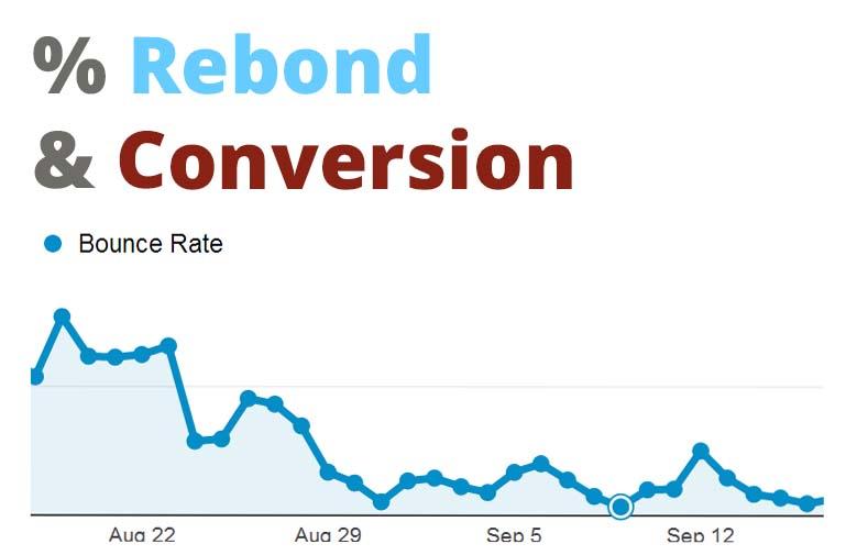 Comment doubler ses revenus et comment j'ai baissé mon taux de rebond de 72%.