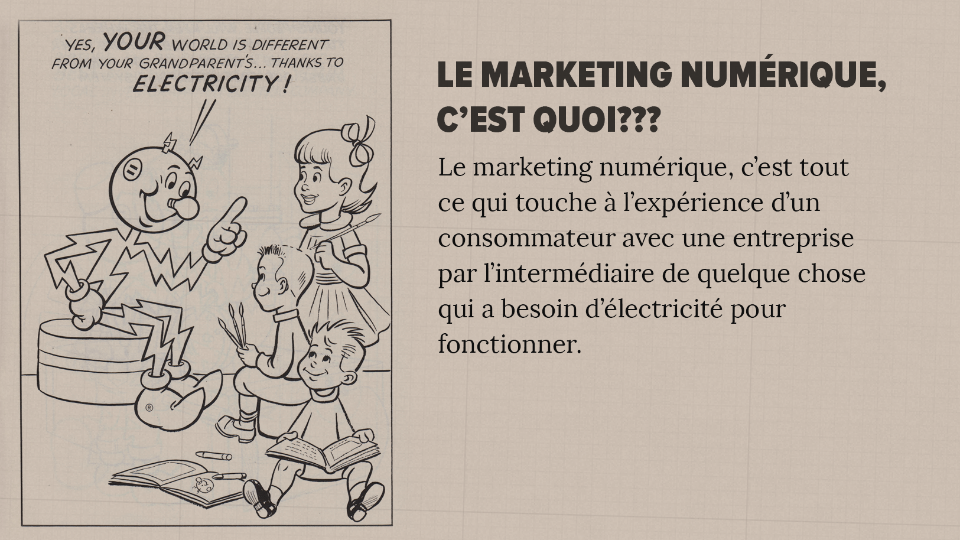 definition mareting numerique