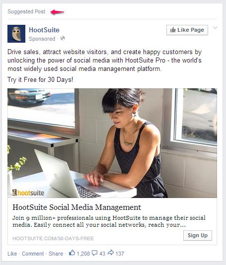 Hootsuite Facebook Ads
