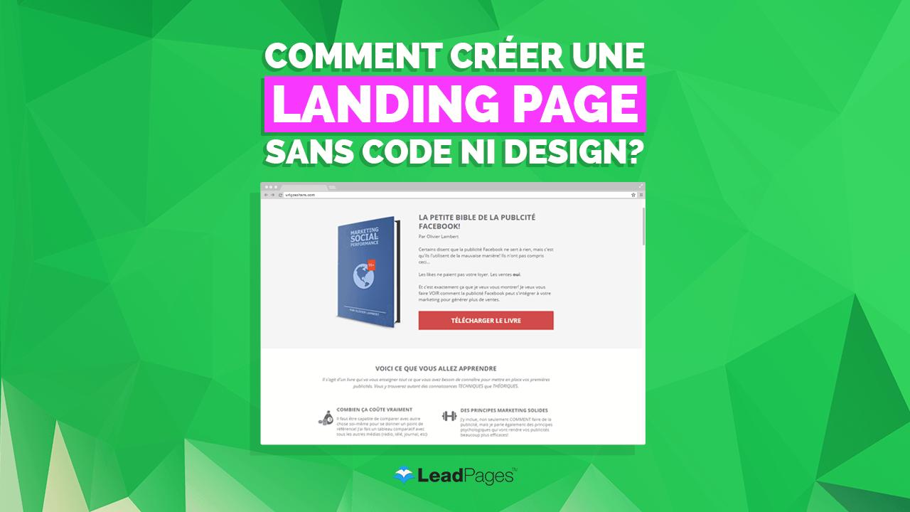 Une landing page, c'est quoi? À quoi ça sert? +Exemples