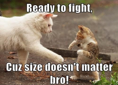 size doesn't matter bro!