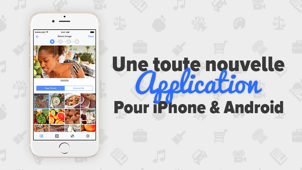 Facebook lance une nouvelle application mobile!