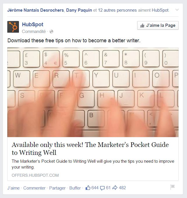 hubspot facebook ads